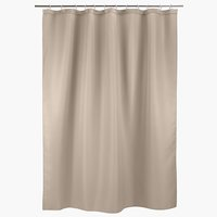 Shower curtain SIBO 180x200 waffle beige