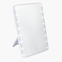 Miroir LED MARIEFRED H22cm blanc
