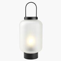 Lanterne ALUNIT Ø17xH38cm m/LED