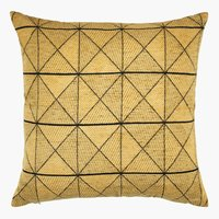 Coussin LUNDKARSE 45x45 jaune
