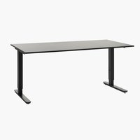 Adjustable desk STAVANGER 80x160 black
