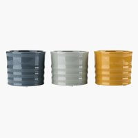 Plant pot TIM D9xH7cm assorted