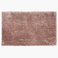 Badematte BERGBY 50x80 lyserød