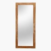 Specchio RAVNDAL 160x70 Rovere