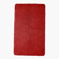 Tappetino bagno UNI DE LUXE 65x110 rosso