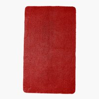Tapete banho UNI DE LUXE 65x110 vermelho