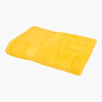 Drap de douche BREEZE 65x135 jaune