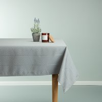 Tablecloth BLOMME 140x320 grey