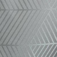 Dug BLOMME 140x320 grå