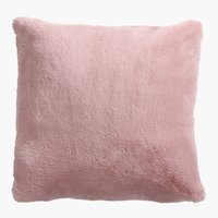 Coussin SOFT MINK 45x45 rose