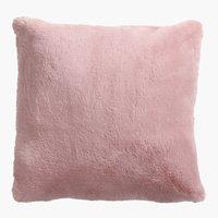 Almofada deco SOFT MINK 45x45 rosa