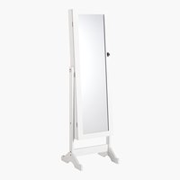 Espejo con armario LONE 145x42 blanco