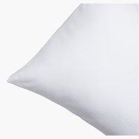 Kissenbezug Jersey 40x80 weiß