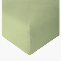 Sábana ajust Jersey 135x200x30cm verde c