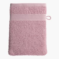 Manopla baño CLASSIC LINE rosa empolvado