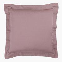 Federa raso 50x50 rosa cipria