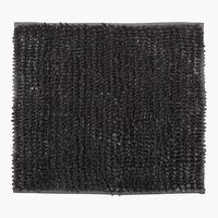 Tappetino bagn LUXUS CHENILLE 45x50 gri.