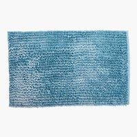 Badematte LUXUS CHENILLE 50x80 blau