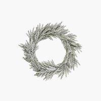 XMAS Wreath ALABAST Ø50cm green