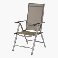 Silla reclinable NEW MEXICO gris