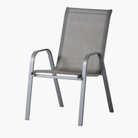 Chaise empilable MEXICO gris