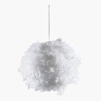 Hängeleuchte KRIS Ø40xH35cm weiß