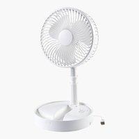 Falt-Ventilator PEDERSEN Ø20xH79-98 weiß