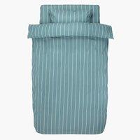Пост. белье SARA 1,5СП сине-зеленый
