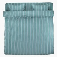 Пост.белье SARA 200x220 сине-зеленый