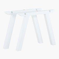 Pieds de table COLUMBIA 2 pcs/pqt blanc