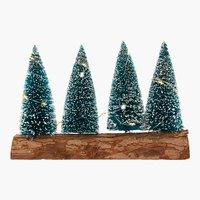 Weihnachtsbaum STAUROLIT H20cm m/LED