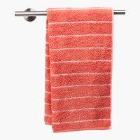 Handtuch SOFIL STRIPE staubrosa