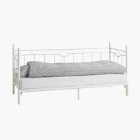 Ram kreveta PORSGRUNN 80/160x200 bela