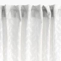 Cortina SULA 1x140x300 blanco