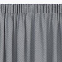 Dekoschal LYGNE 1x140x300 jacquard grau