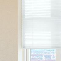 Plisségardin HOVDEN 110x160 hvit
