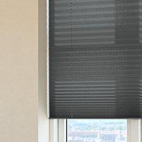 Plisségardin HOVDEN 80x160 grå