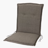 Cushion high back chair GUDHJEM sand