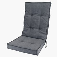 Coussin chaise inclinable REBSENGE gris
