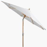 Parasol forain LEMVIG Ø300 blanc cassé