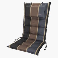 Coussin chaise inclinable AKKA brun