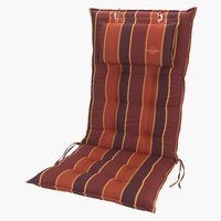 Coussin chaise inclinable SEVILLA rouge
