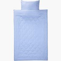 Bettwäsche CATERINA Micro SGL blau