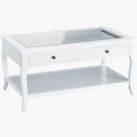 Table basse LONE 60x100 blanc