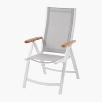 Silla reclinable SLITE blanco