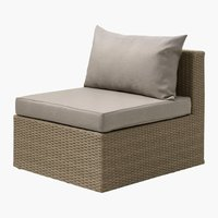 Loungeset AJSTRUP middenmodule naturel