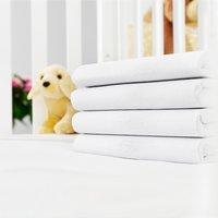 Jersey sheet 40x95x10cm white KRONBORG