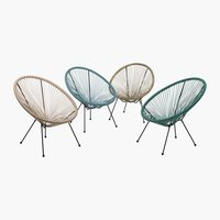 Lounge chair UBBERUP asstd.