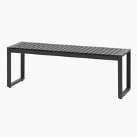 Bench SAUNTE W120xD35 black