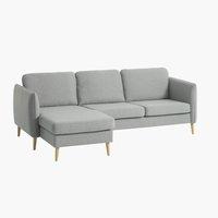 Sofa AARHUS Reclamiere links grau